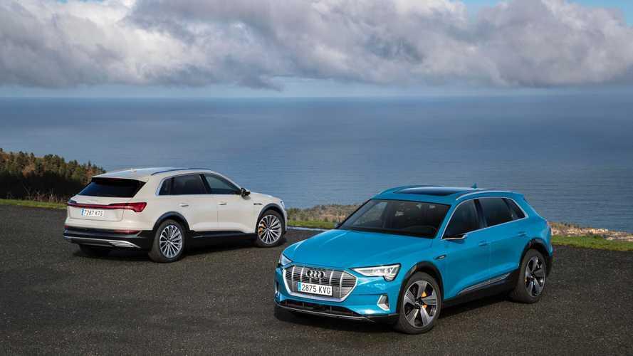 Audi e-tron 2019, silencio... se rueda