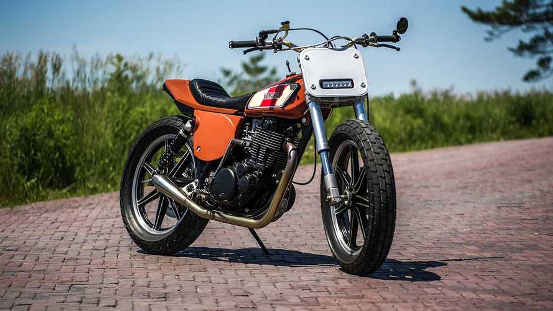 A Lovingly Restored Yamaha XT500 Is The Best Family Heirloom