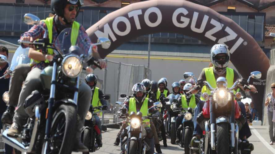 Go Party With Moto Guzzi In The Italian Alps