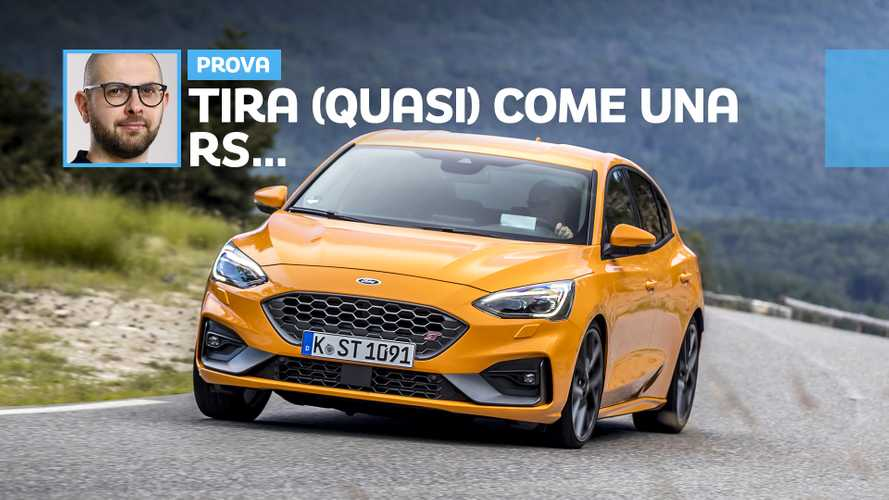 Ford Focus ST, la prova della daily car da 280 CV