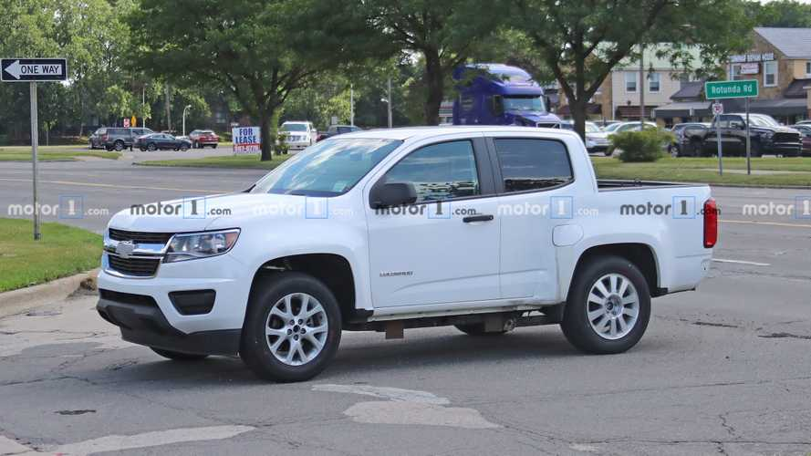 Why Is This Weird Chevy Colorado Test Mule Trolling Ford HQ?