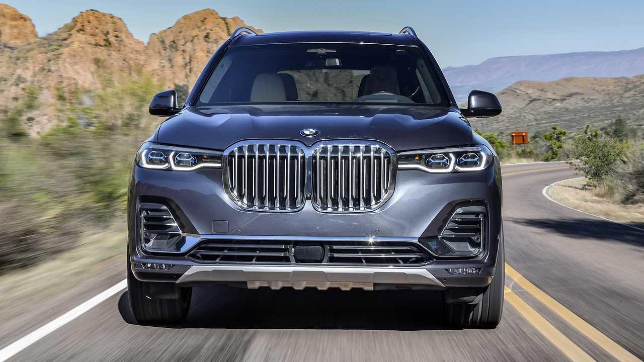 Autos mit krassem Grill: BMW X7