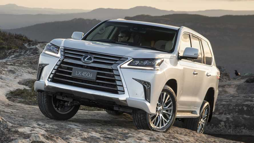 Lexus LX600 Trademark Could Hint At More Powerful Version