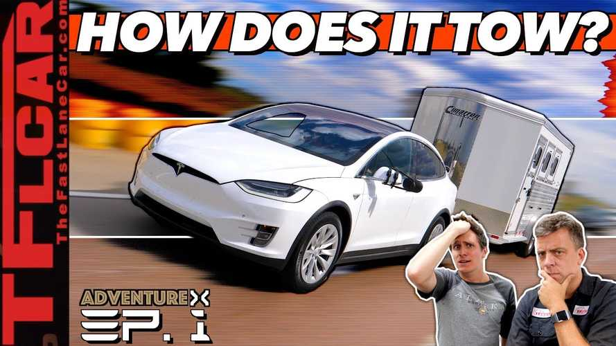 Is Towing With A Tesla Model X As Simple & Solid As You Might Expect?