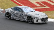 Jaguar F-Type Spy Photos
