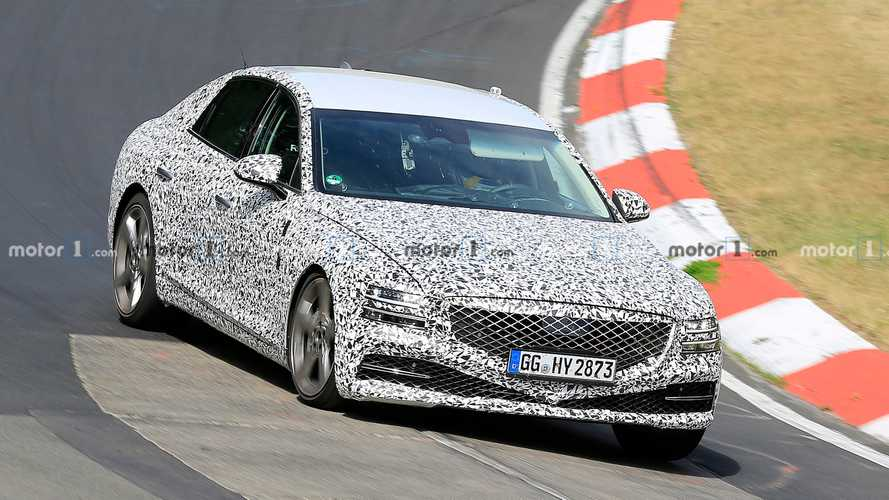 New Genesis G80 Looks Interesting During Nürburgring Spy Video