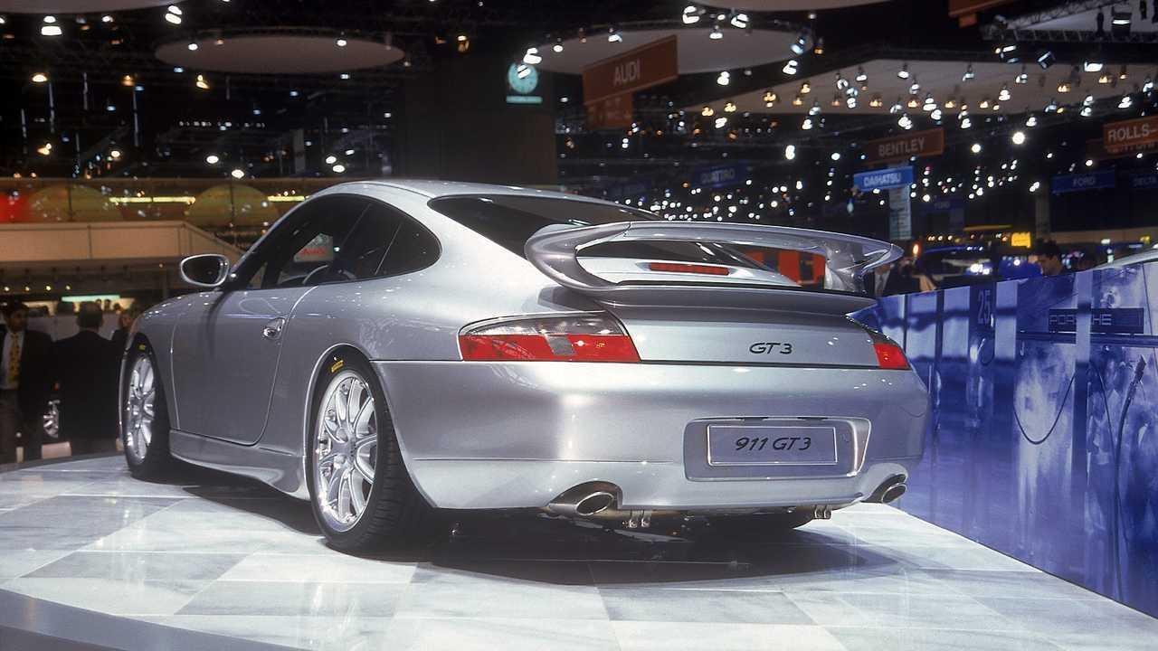 Porsche 996.1 GT3 Genfer Autosalon 1999