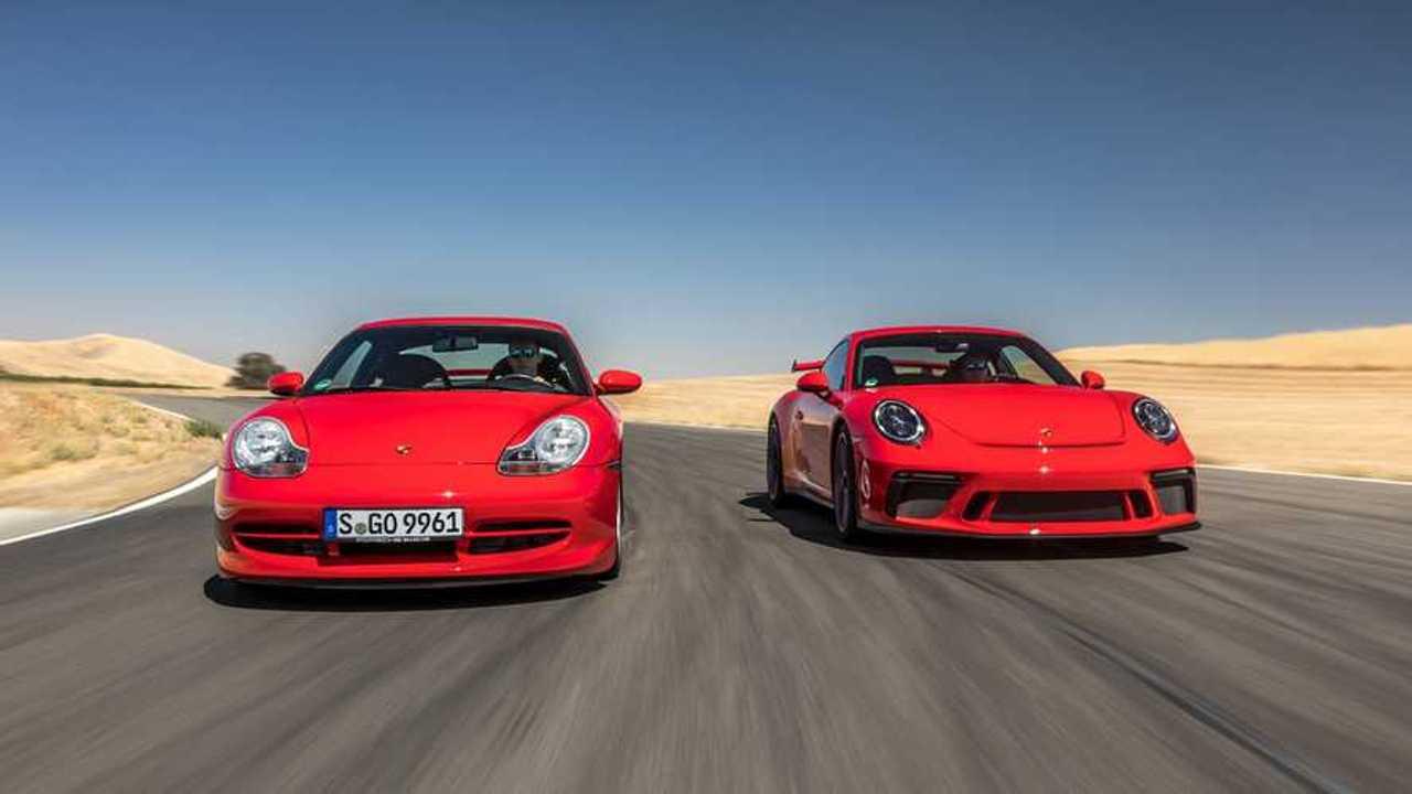 Porsche 911 GT3 celebra 20 anni