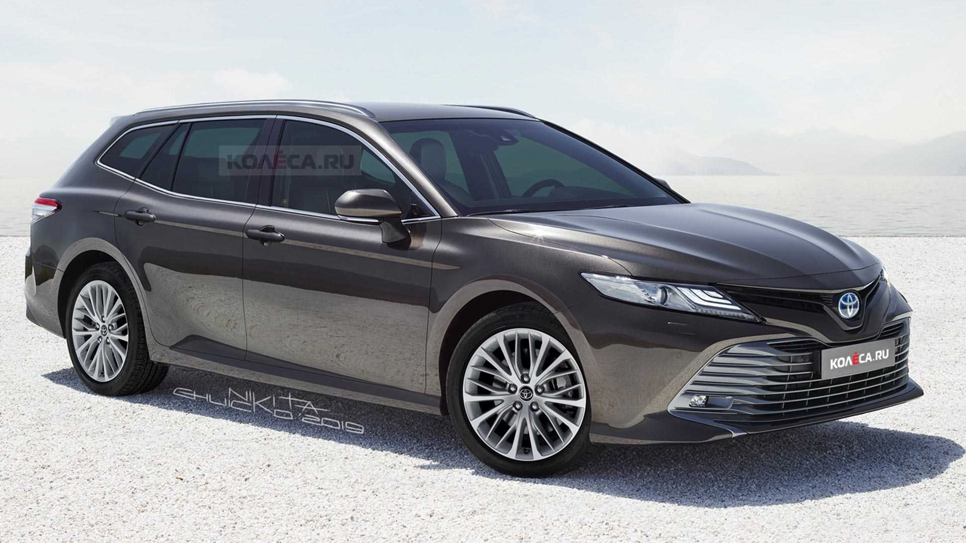 Toyota Camry Rendered As Stylish Wagon That Isn T Hitting