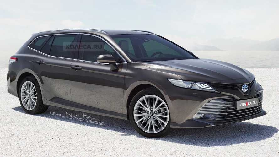 Toyota Camry Rendered As Stylish Wagon That Isn't Hitting Showrooms