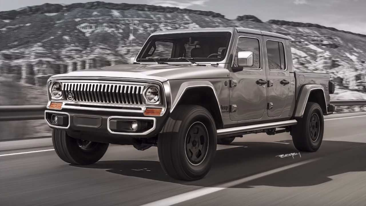 Jeep Gladiator Gets 1970s Makeover