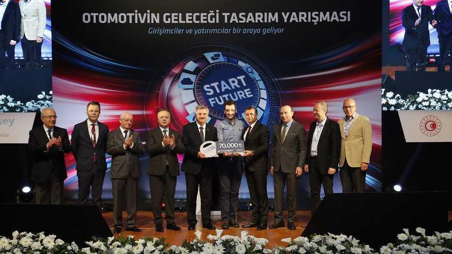 """OİB'de büyük ödül """"paylaşımlı şarj"""" projesinin"""