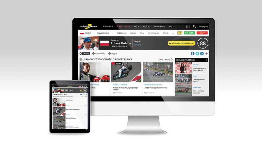 Motorsport.com erweitert seine globale Präsenz mit der Einführung einer polnischen Ausgabe