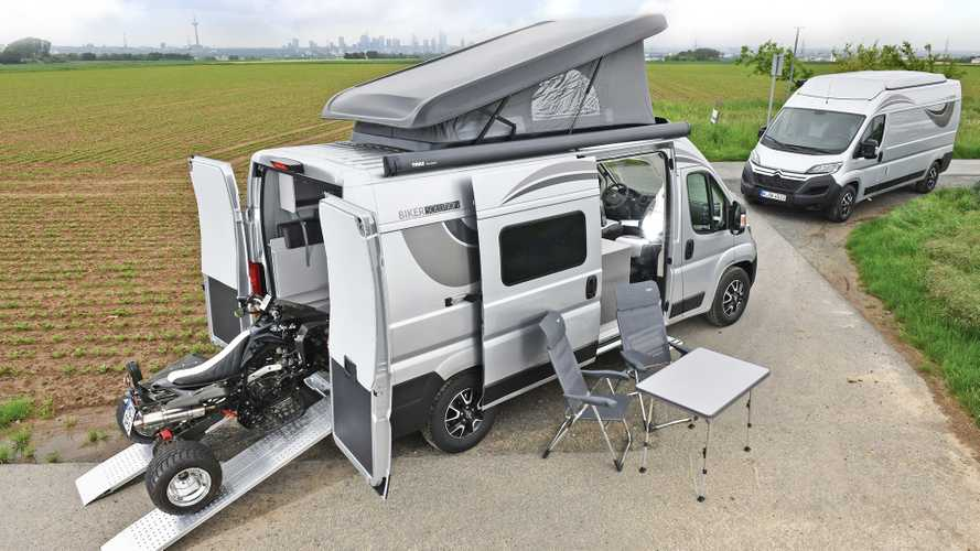 Citroën Jumper Biker Solution: Wohnmobil mit Garage