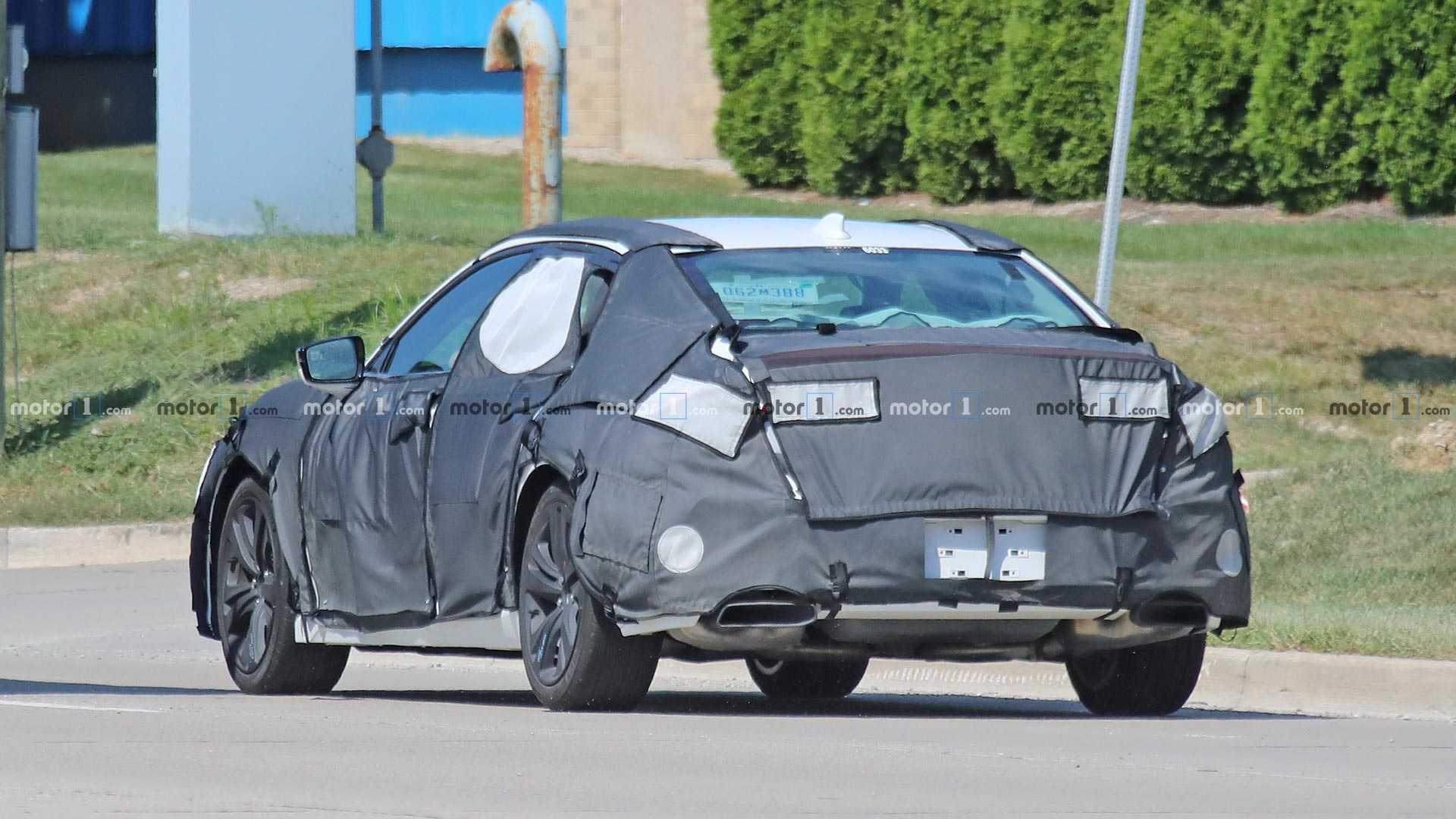 2020 - [Acura] TLX 2021-acura-tlx-spy-shots