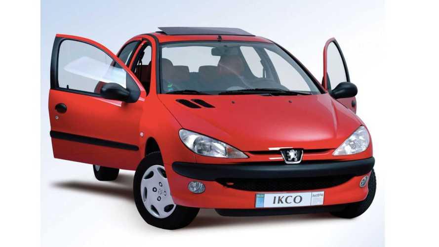 Peugeot 206 segue em produção no Irã e vendido por R$ 23 mil