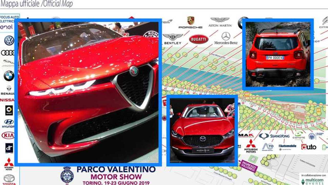 Copertina Parco Valentino 2019, tutte le auto