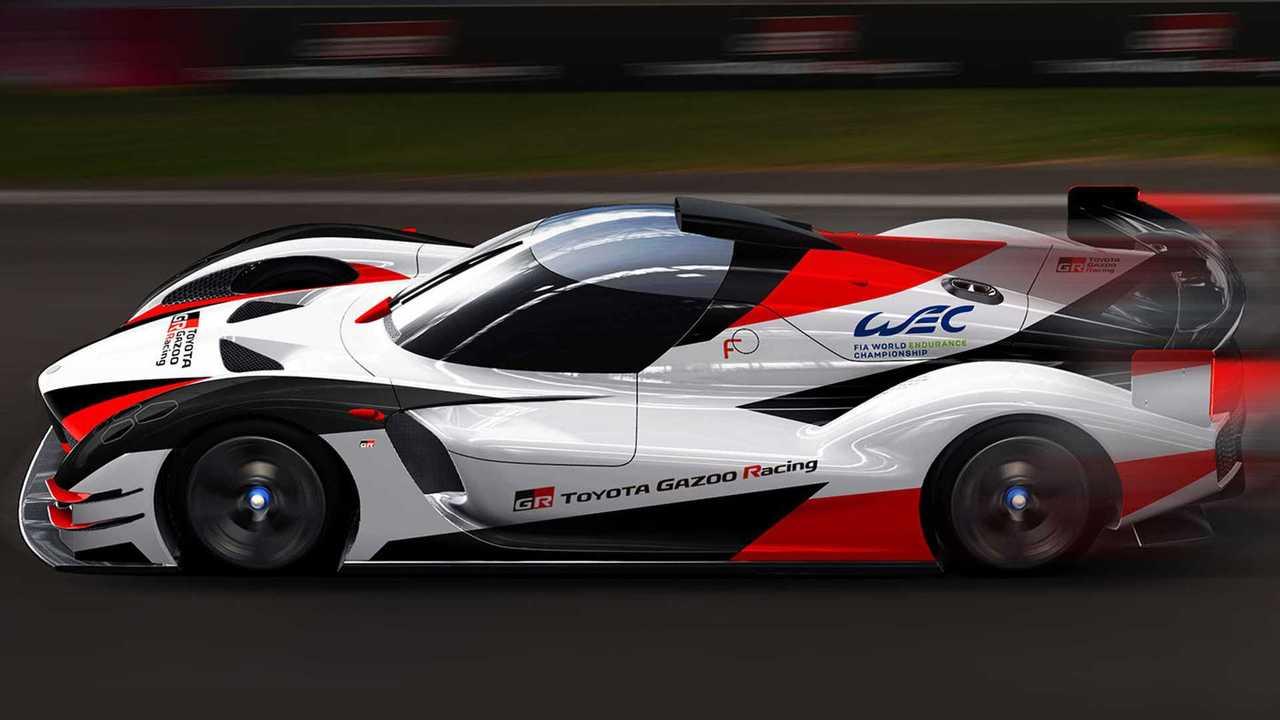 Toyota Gazoo Racing Hypercar rendering