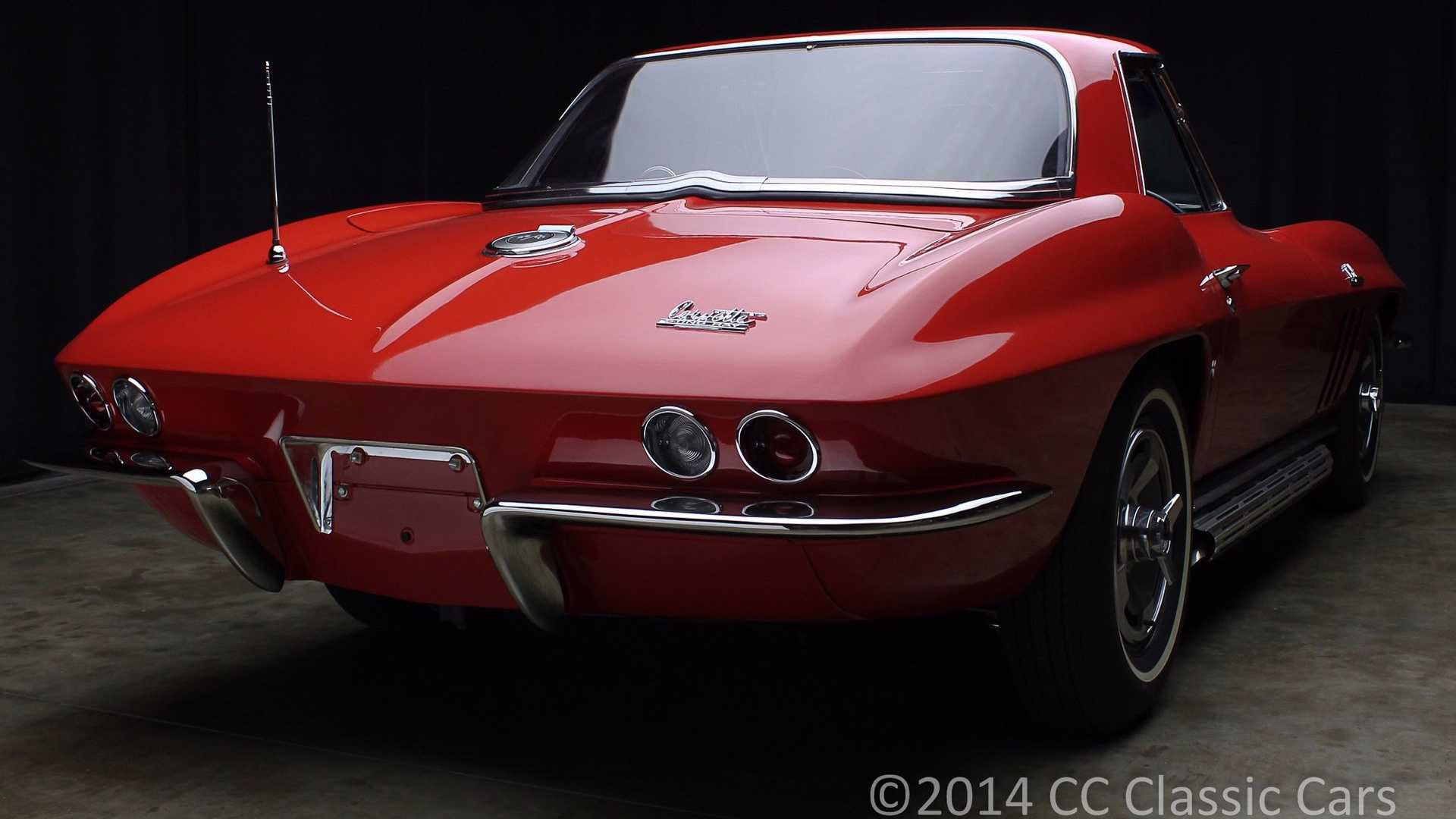 """[""""Could This 1966 Corvette Be More Perfect?""""]"""
