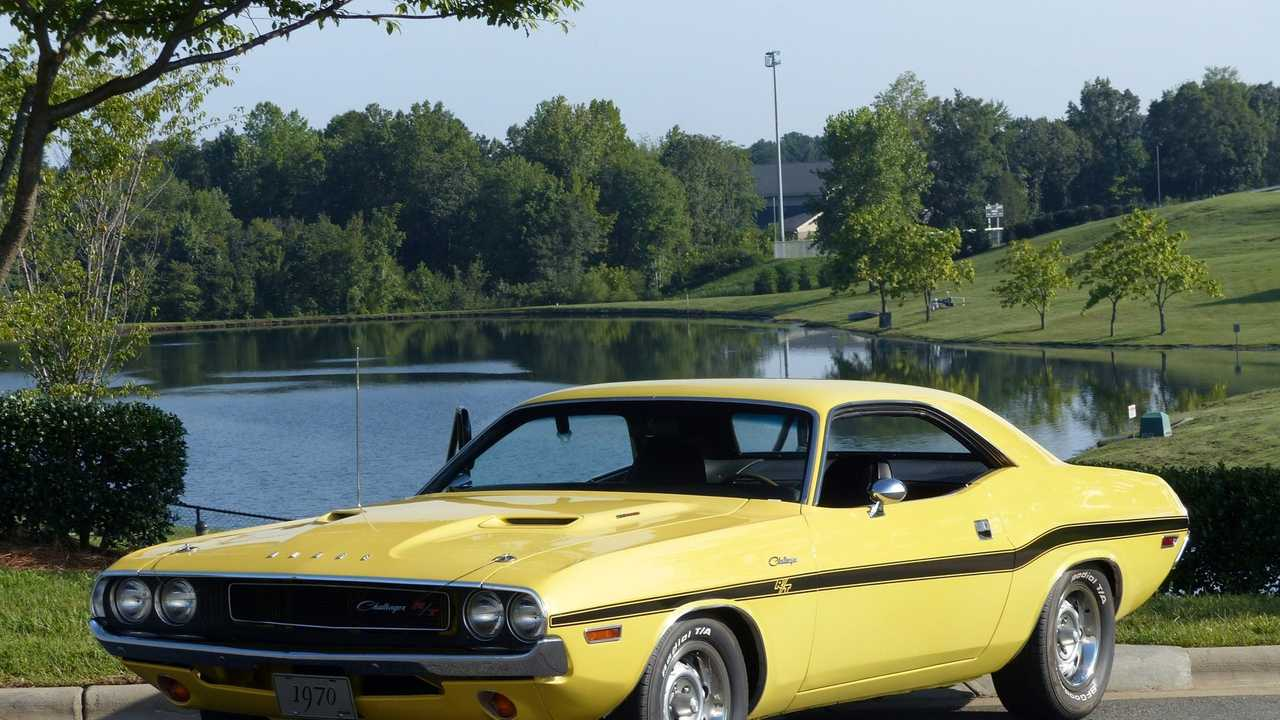 Peel Out In This Banana Yellow 1970 Dodge Challenger R/T
