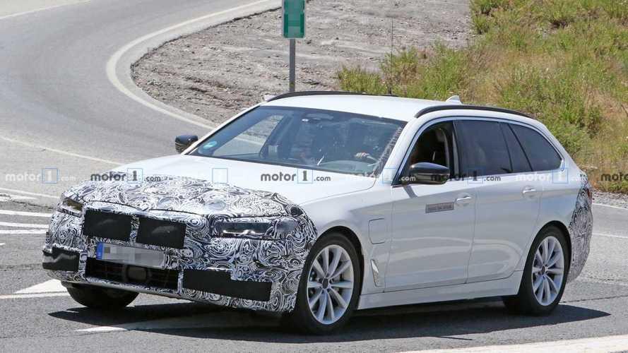 BMW Serie 5, il restyling è anticipato dalle foto spia