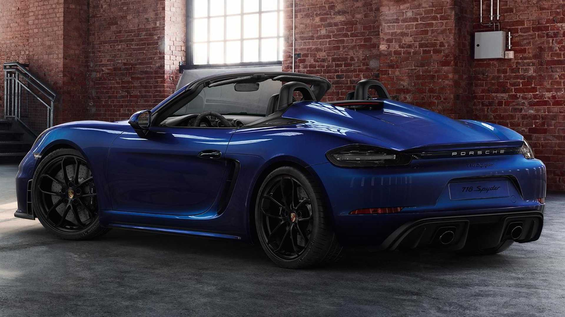 Porsche Exclusive Shows Tricked Out 718 Spyder