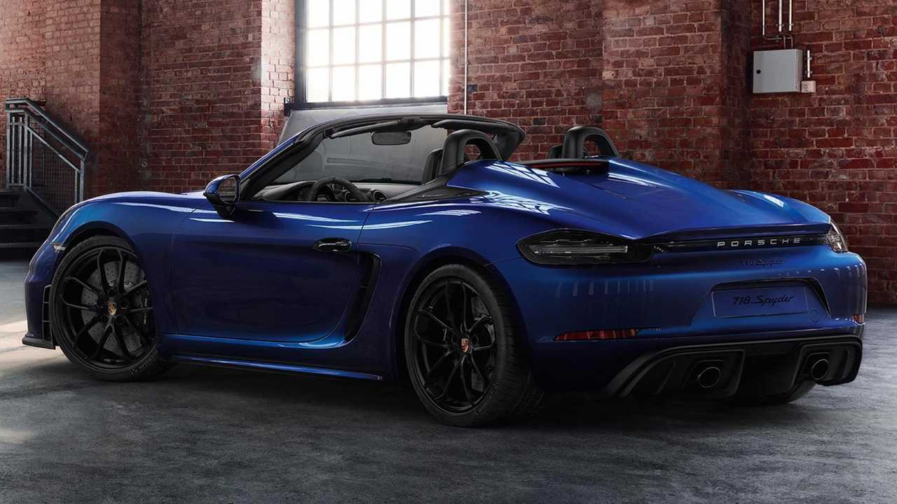 Porsche 718 Boxster Spyder by Porsche Exclusive
