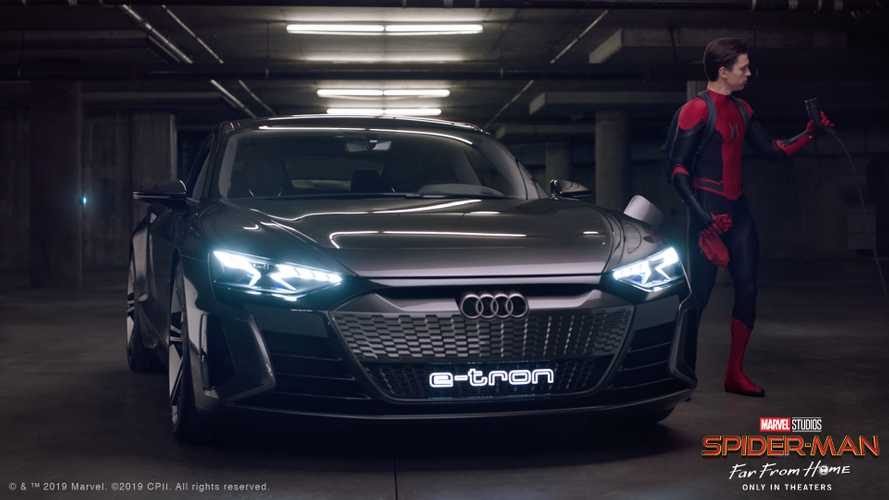 Audi Helps Spider-Man With A School Project In Short e-tron GT Promo Vid