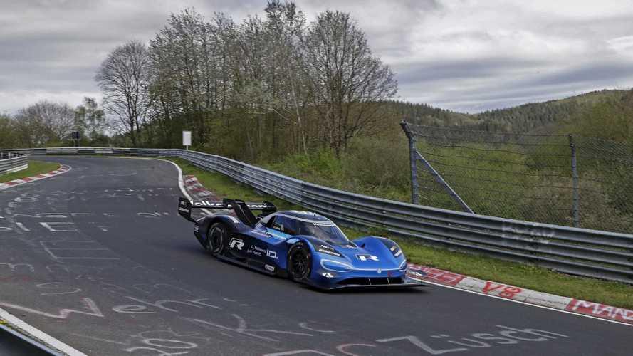 La Volkswagen ID. R a débuté ses essais sur le Nürburgring