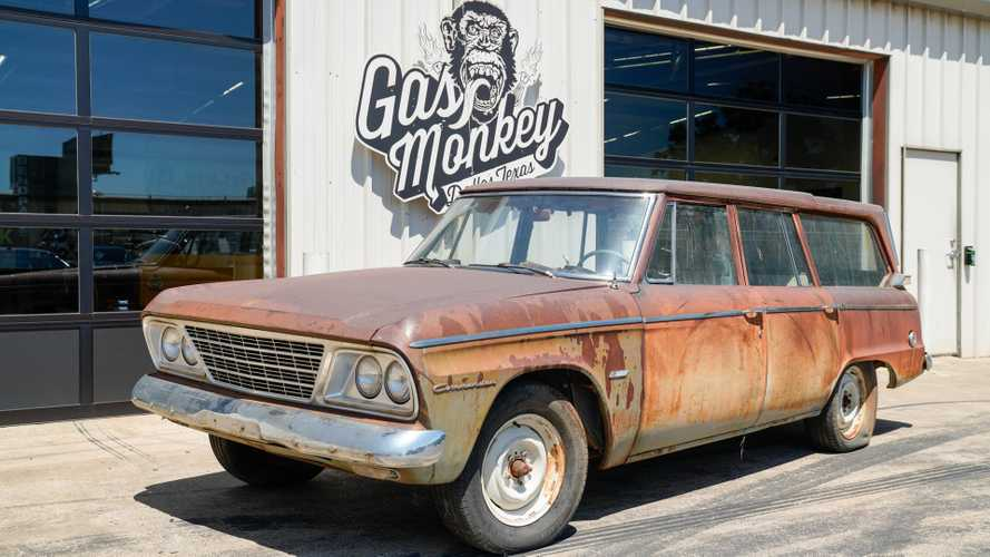 1964 studebaker commander wagonaire lives up to its name
