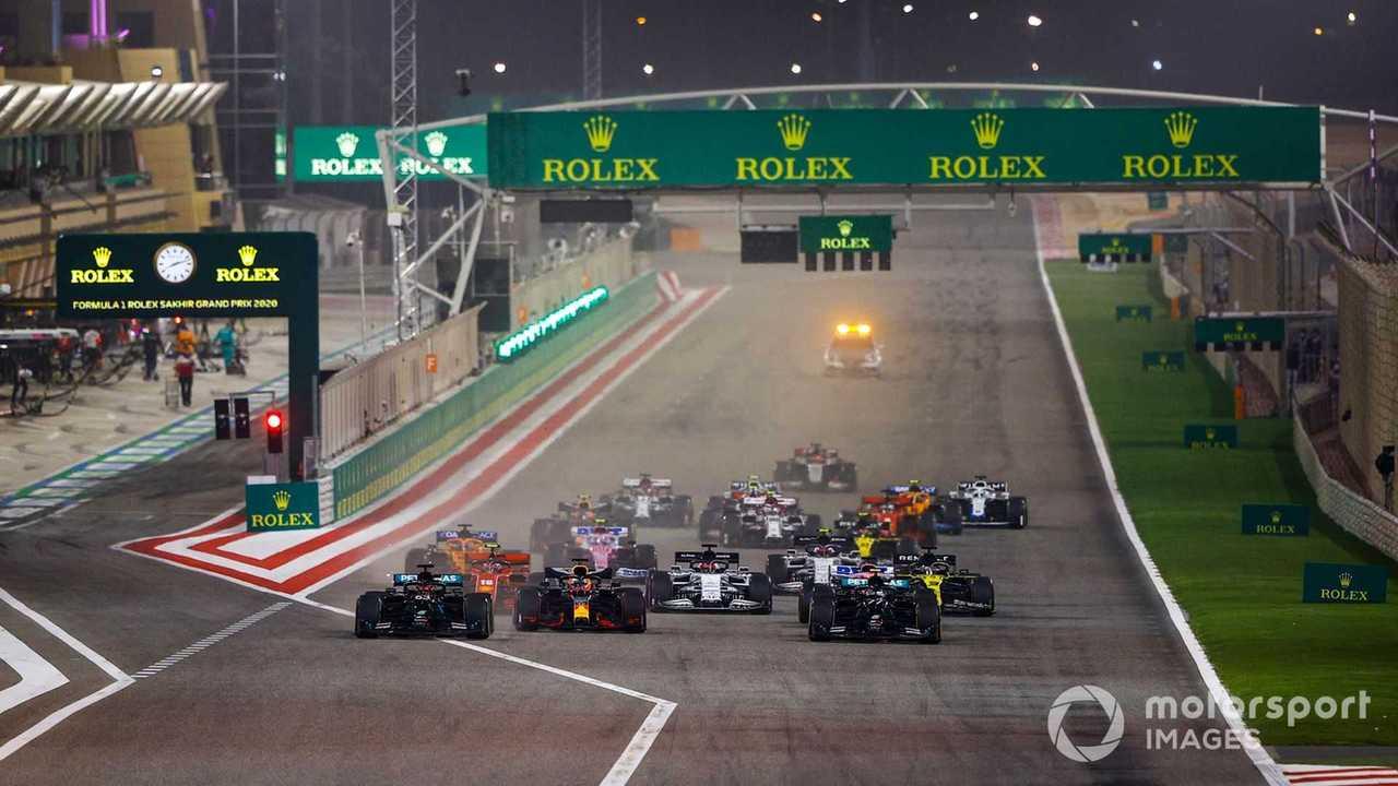 Sakhir GP 2020 race start