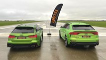 audi rs 6 course rs q8 break