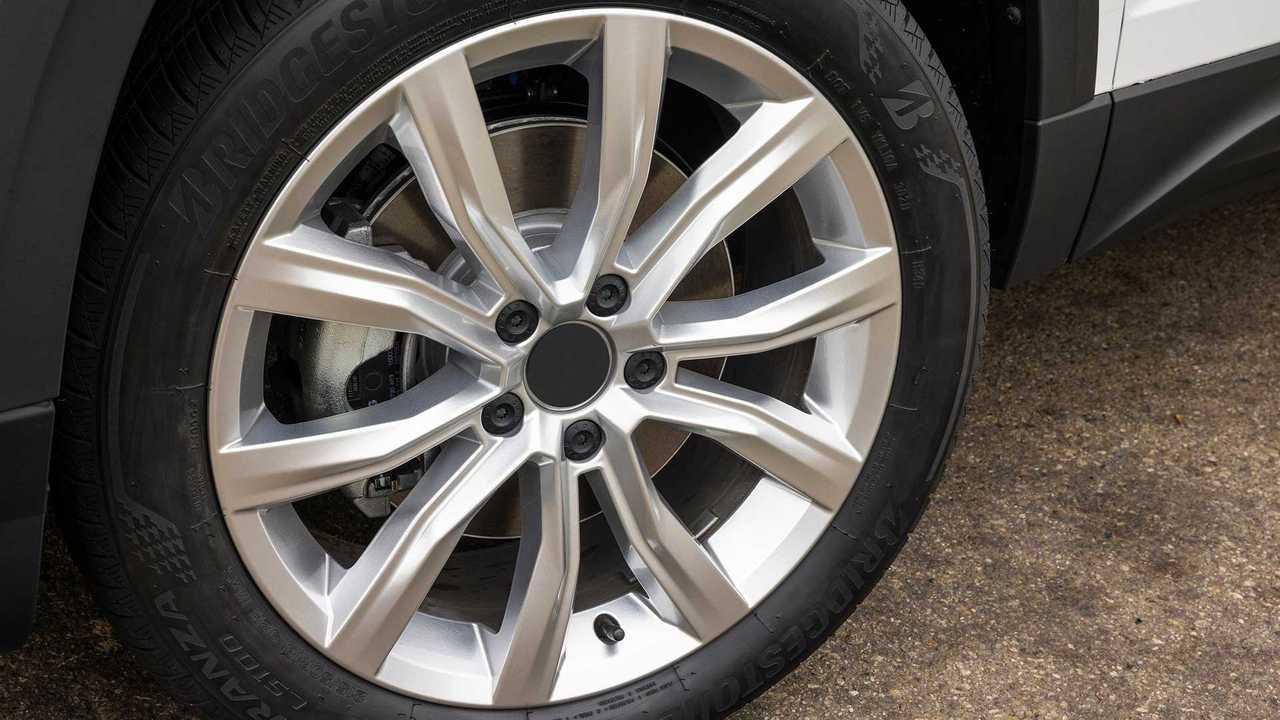 2022 Volkswagen Taos Prototype Wheel