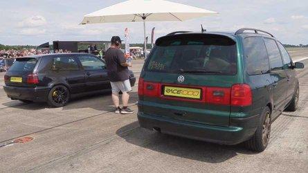 700-bhp VW Sharan MPV is the family man's sleeper