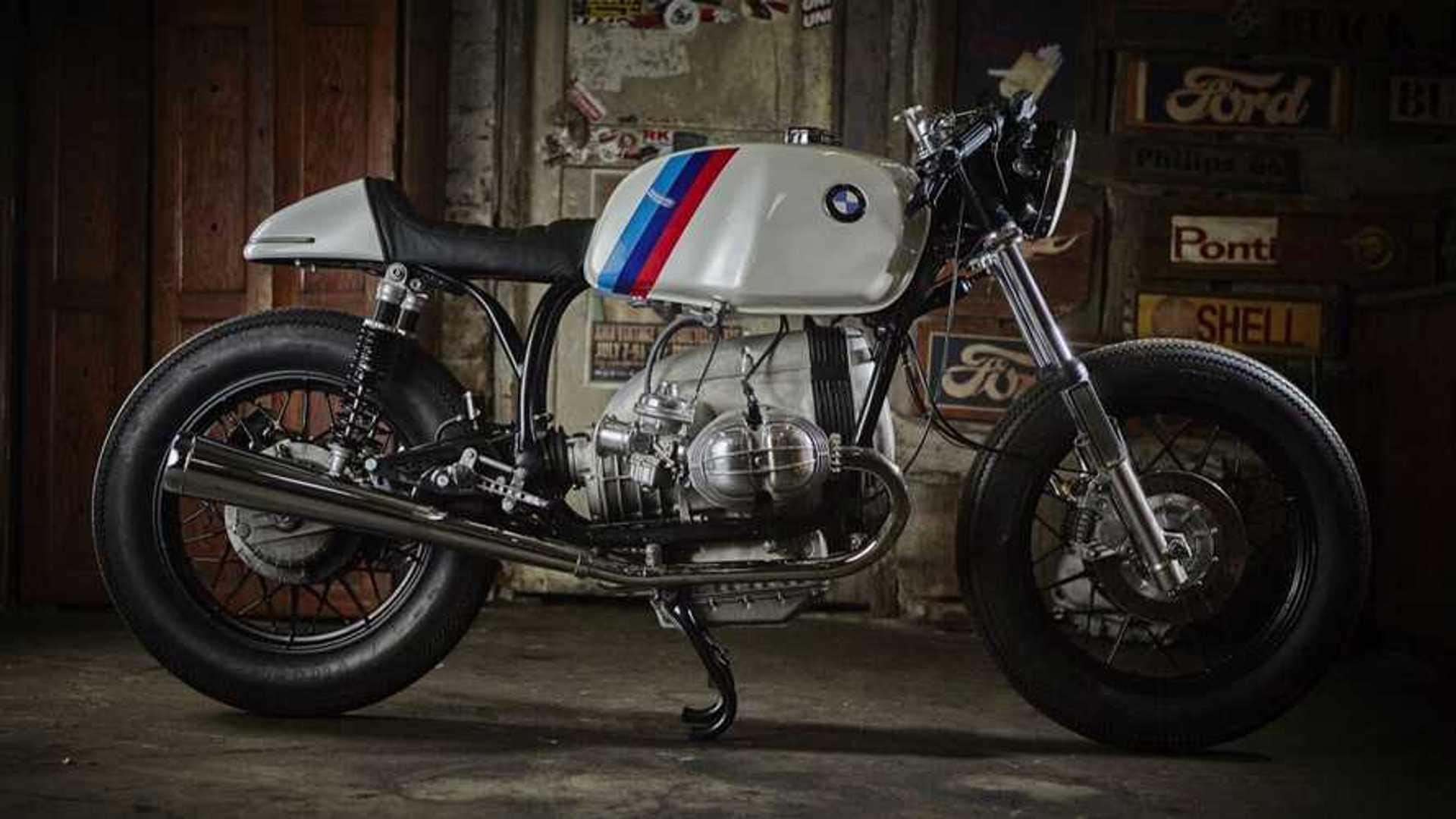 86 Gear Custom Bmw R100 Rt Cafe Racer