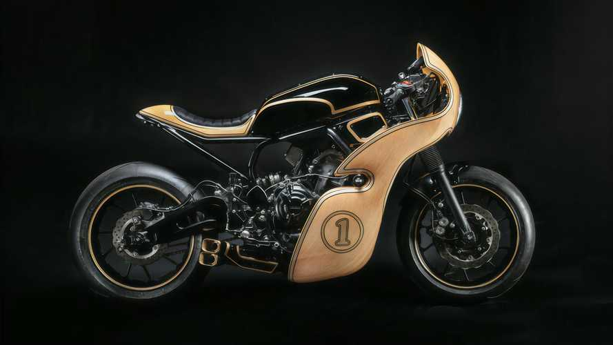 Yamaha XSR700 With Wood Fairing