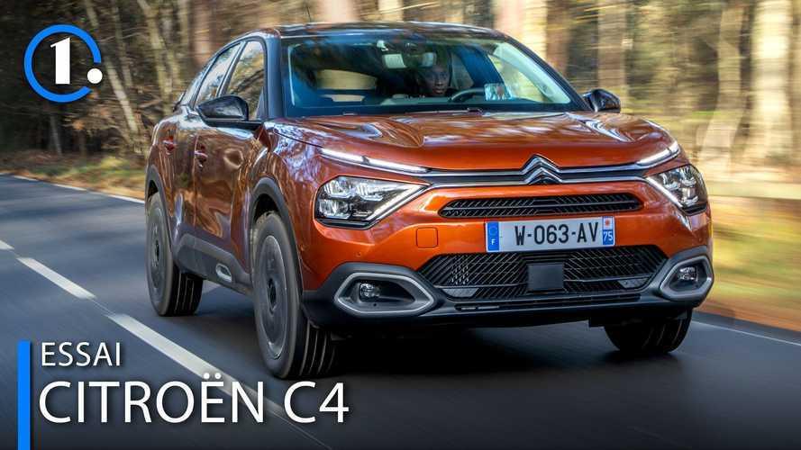 Essai Citroën C4 (2021) - Des partis pris assumés à tous les niveaux