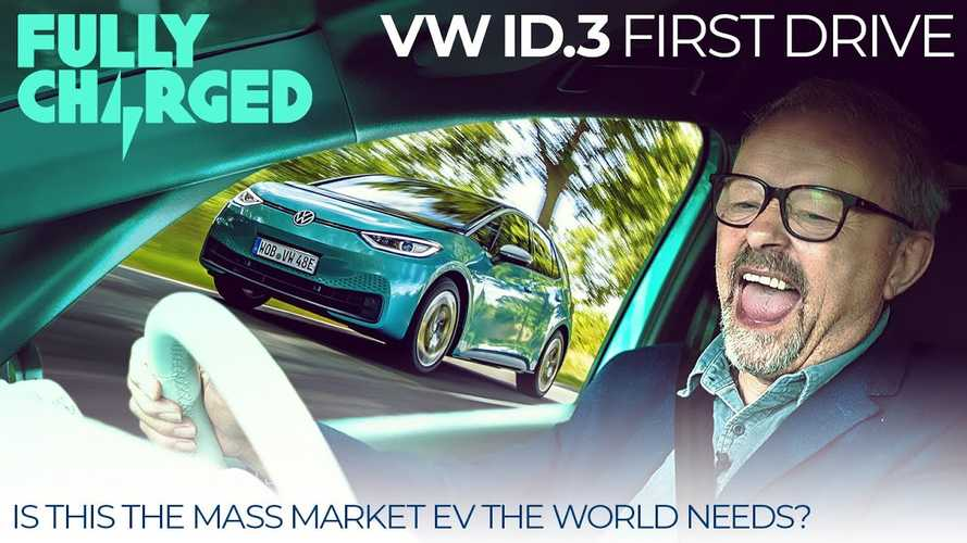 FullyCharged Gets Behind The Wheel Of A Volkswagen ID.3