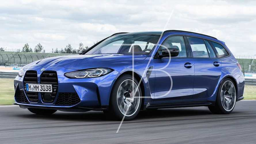BMW M3 Touring Renderings
