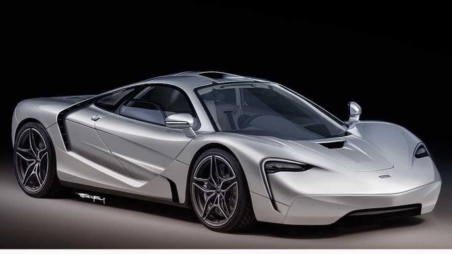 McLaren F1 rendering dares to modernise a legend