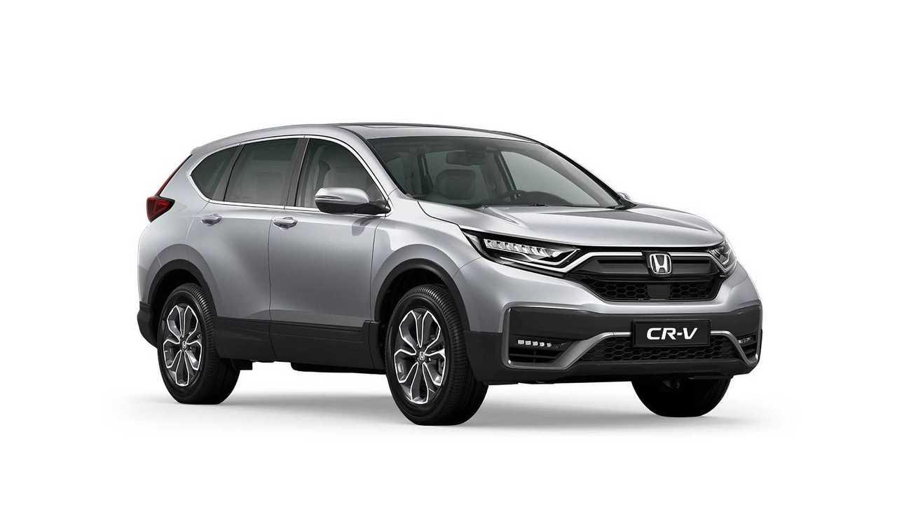 Обновленный Honda CR-V (2020) для России