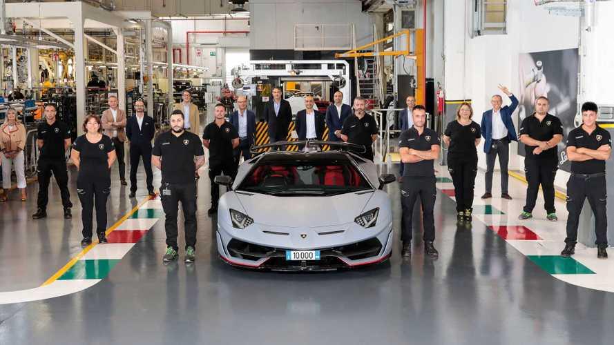 Lamborghini passe le cap des 10'000 Aventador produites