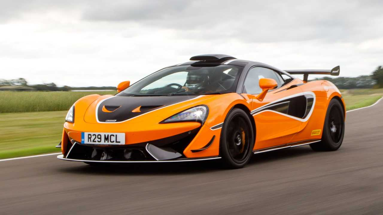 McLaren 620R MSO R Pack front left quarter view dynamic
