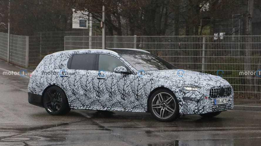 Mercedes-AMG C-Serisi Station Wagon türevi ilk kez görüntülendi