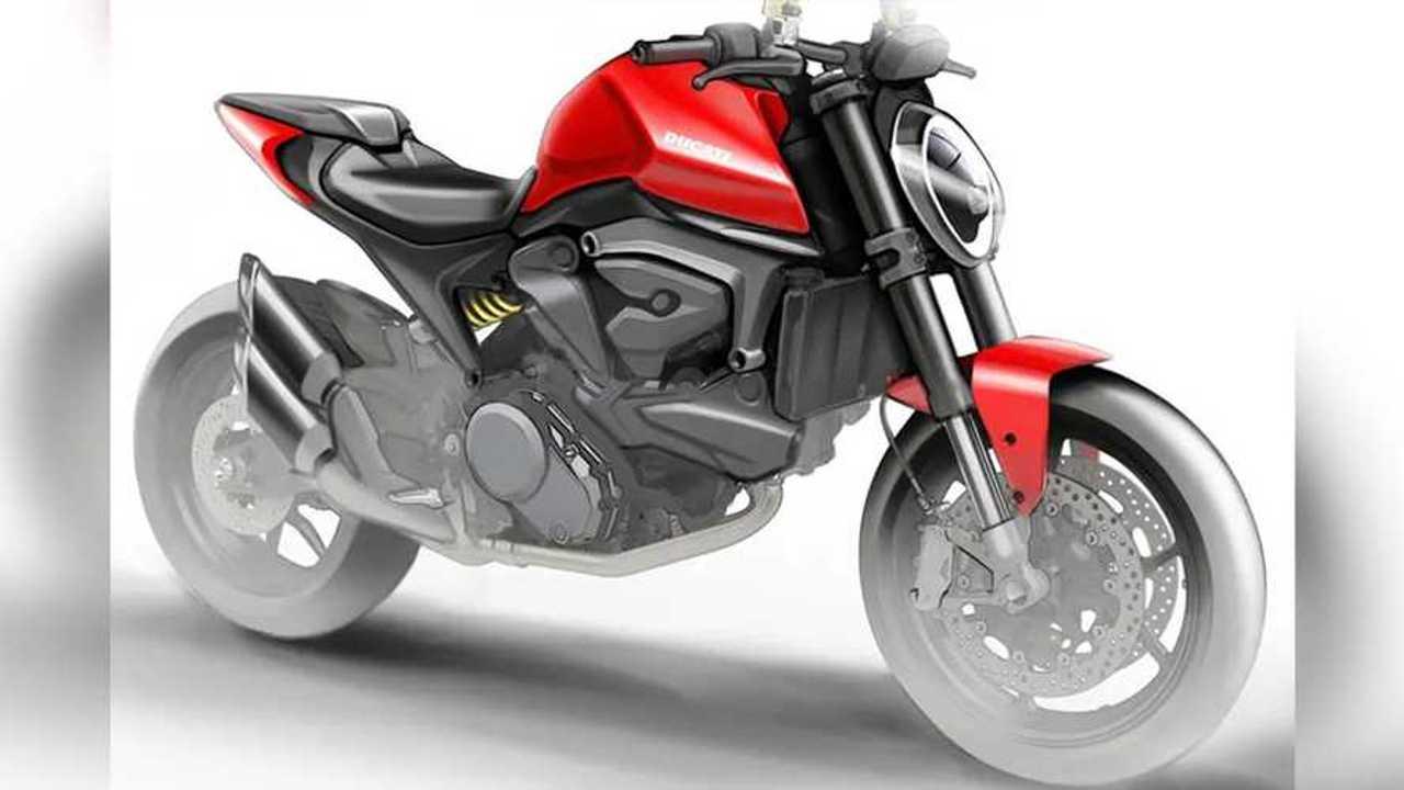 Ducati Monster - No Trellis