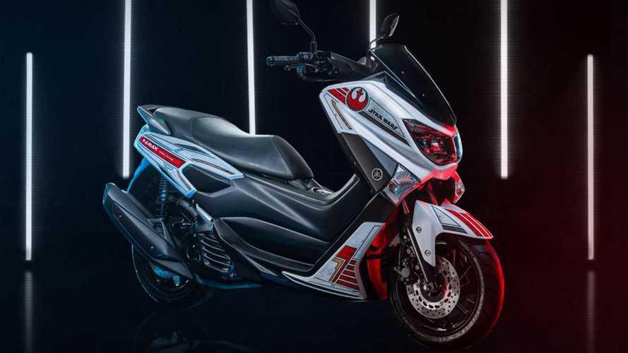 Yamaha NMax 160 ganha versão especial de Star Wars por R$ 14.390