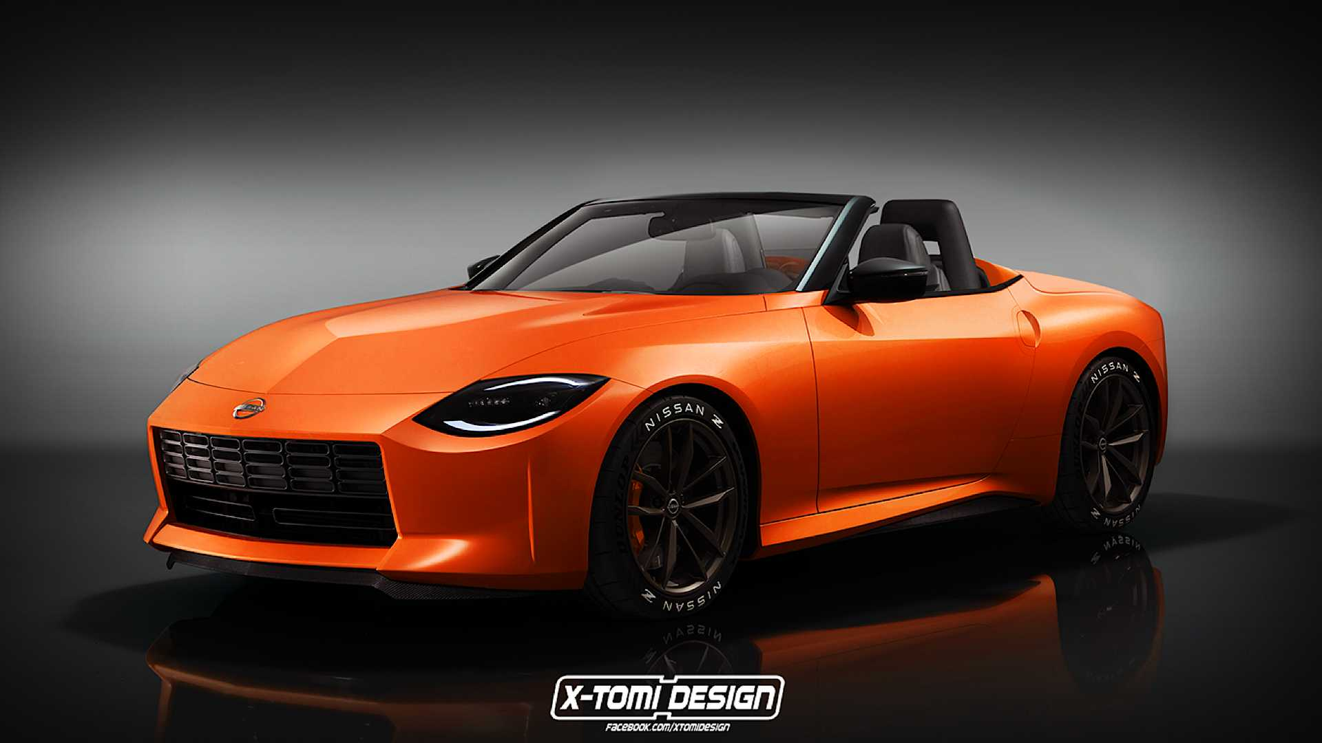 Nissan Z Proto Loses Its Roof In Unofficial Roadster Rendering  image