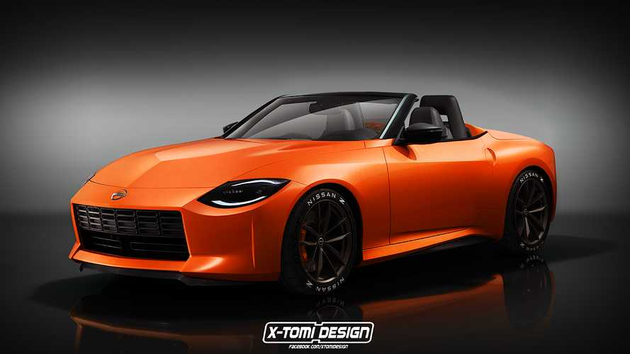 Nissan Z Proto loses its roof in unofficial roadster rendering