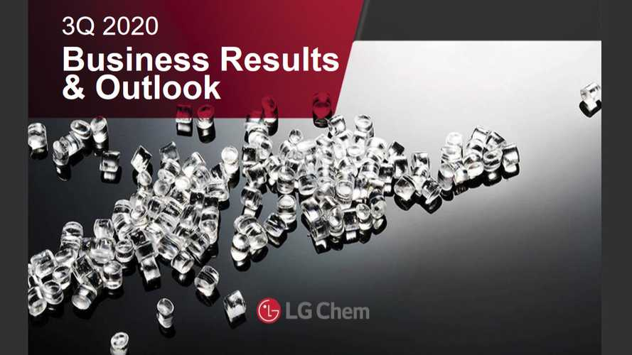 LG Chem Shows Outstanding Q3 2020 Report
