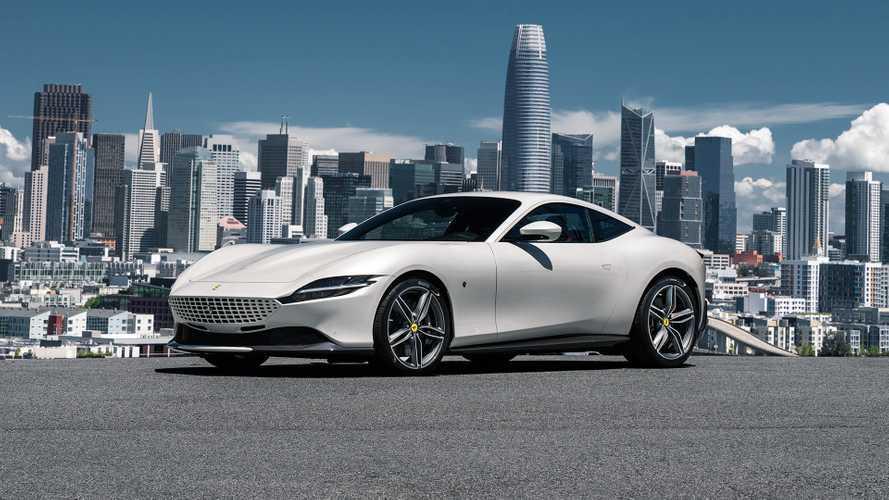 Una Ferrari Roma all'asta per più di 630.000 euro